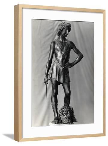 Andrew Del Verrochio's David--Framed Art Print