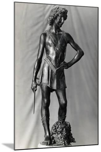 Andrew Del Verrochio's David--Mounted Photographic Print