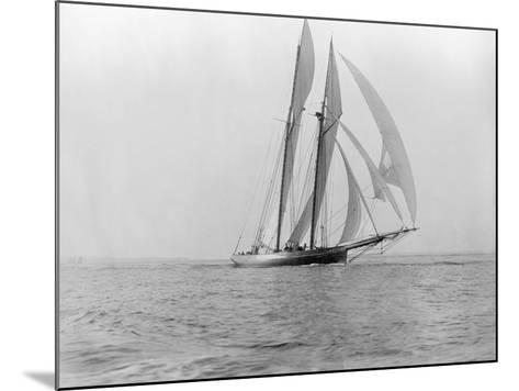Yacht in the Sea--Mounted Photographic Print