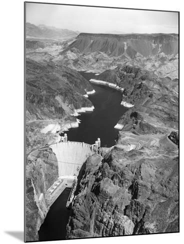 Aerial View of Hoover Dam-Charles Rotkin-Mounted Photographic Print