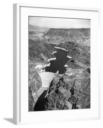 Aerial View of Hoover Dam-Charles Rotkin-Framed Art Print