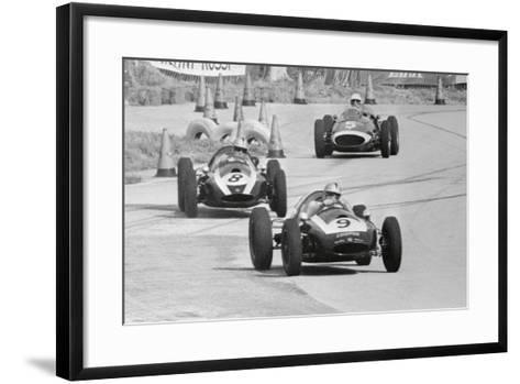 View of the Sebring 5-2 Mile Race--Framed Art Print