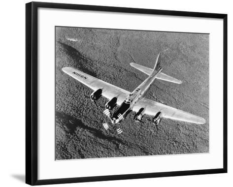 B-17 Flying Fortress in Flight--Framed Art Print