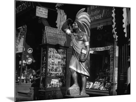 Wooden Native American Cigar Shop Statue--Mounted Photographic Print