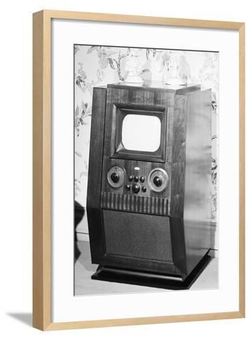Television Set of the 1940'S--Framed Art Print