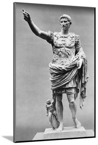 Augustus of Prima Porta Ancient Roman Statue--Mounted Photographic Print