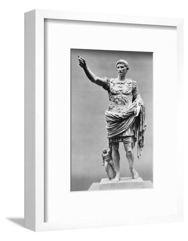 Augustus of Prima Porta Ancient Roman Statue--Framed Art Print