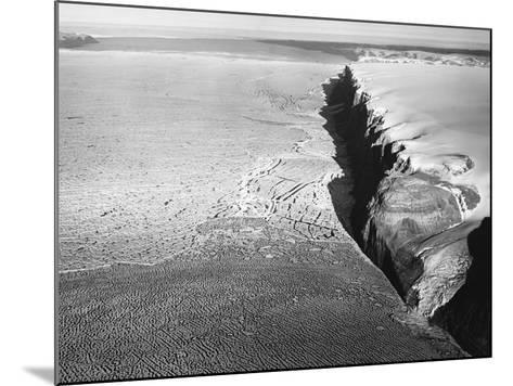 Peterman Glacier in Greenland--Mounted Photographic Print