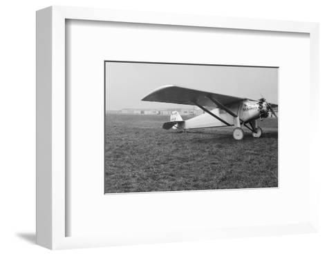 View of Charles Lindbergh's Airplane the Spirit of St. Louis--Framed Art Print