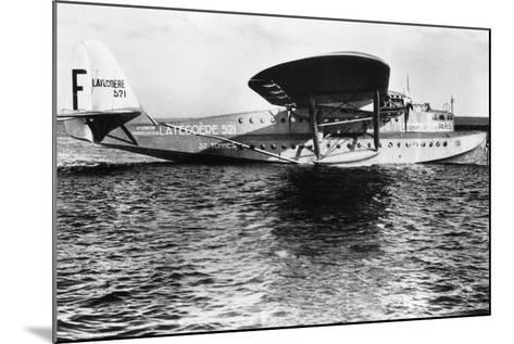 View of Seaplane Lieutenant De Vaisseau Paris--Mounted Photographic Print