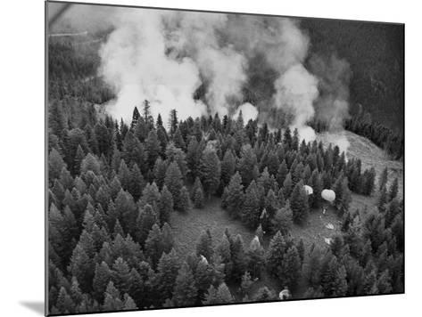 Firejumpers in Lolo National Forest-W.E. Steuerwald-Mounted Photographic Print