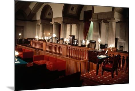 Supreme Court without Occupants--Mounted Photographic Print