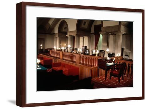 Supreme Court without Occupants--Framed Art Print
