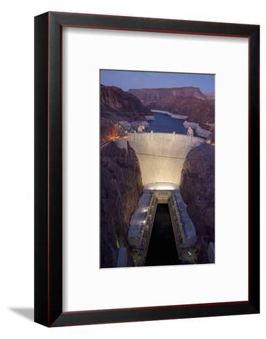 Hoover Dam, near Boulder City and Las Vegas, Nevada-Joseph Sohm-Framed Art Print