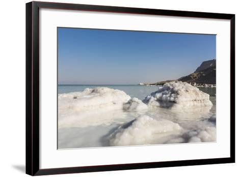 Dead Sea - Salt Deposits-Massimo Borchi-Framed Art Print