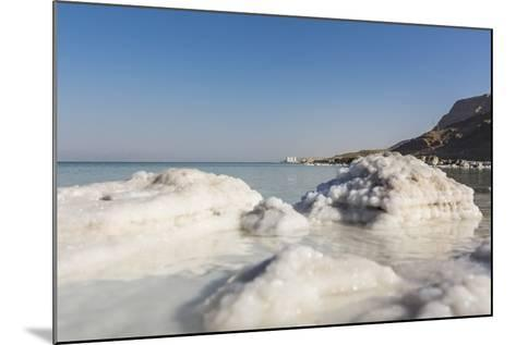 Dead Sea - Salt Deposits-Massimo Borchi-Mounted Photographic Print