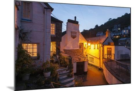 Polperro is a Village with Beautiful Ancient Houses along a Canal-Guido Cozzi-Mounted Photographic Print