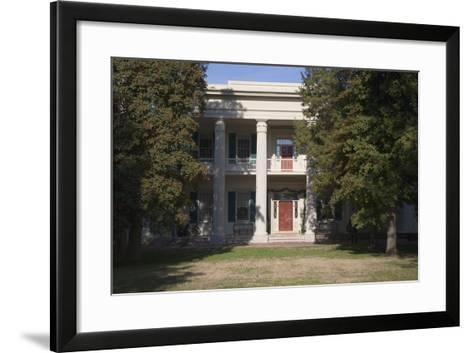 The Hermitage, President Andrew Jackson Mansion and Home, Nashville, TN-Joseph Sohm-Framed Art Print
