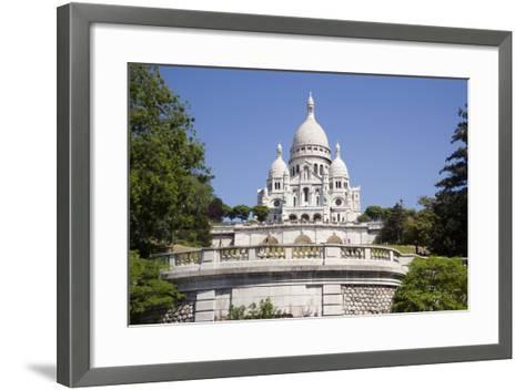 Sacre Coeur Cathedral--Framed Art Print