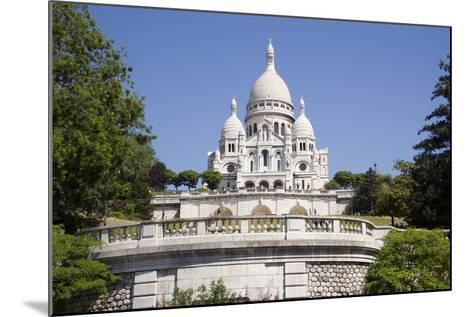 Sacre Coeur Cathedral--Mounted Photographic Print