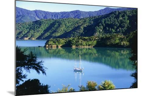 Marlborough Sound in New Zealand-Peter Adams-Mounted Photographic Print
