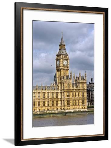 House of Parliament and Big Ben-Massimo Borchi-Framed Art Print