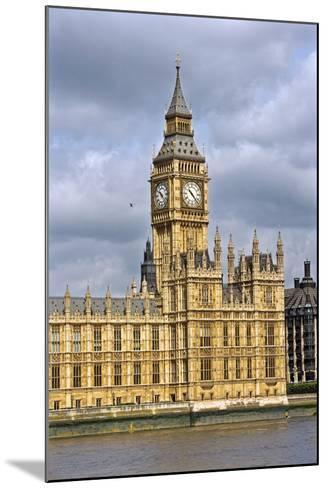 House of Parliament and Big Ben-Massimo Borchi-Mounted Photographic Print