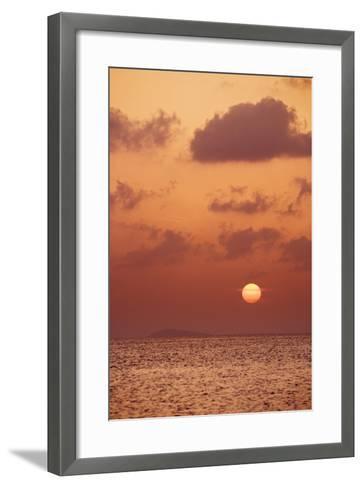 Sunset at St. John, U.S. Virgin Islands-Macduff Everton-Framed Art Print