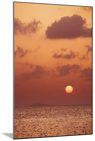 Sunset at St. John, U.S. Virgin Islands-Macduff Everton-Mounted Photographic Print
