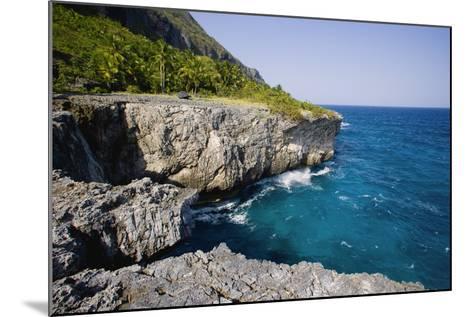 Coast of Samana Peninsula near Puerto El Fronton-Massimo Borchi-Mounted Photographic Print