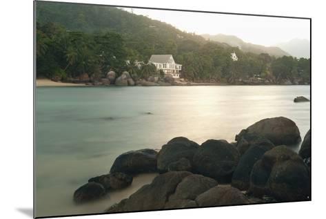 Baie Beau Vallon, Mahe, Seychelles, Indian Ocean Islands-Guido Cozzi-Mounted Photographic Print