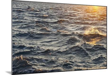 Sea at Sunset, Korcula Island, Croatia-Guido Cozzi-Mounted Photographic Print