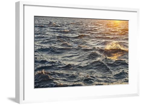 Sea at Sunset, Korcula Island, Croatia-Guido Cozzi-Framed Art Print