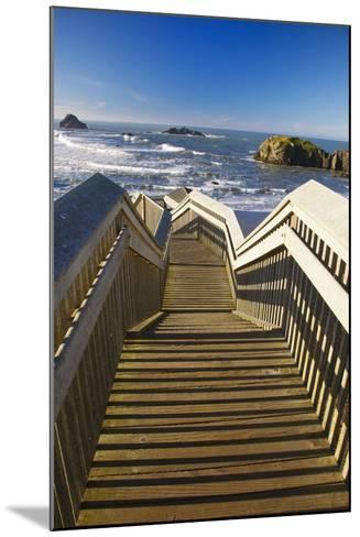 Bandon Beach, Oregon, USA-Craig Tuttle-Mounted Photographic Print