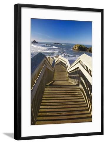 Bandon Beach, Oregon, USA-Craig Tuttle-Framed Art Print