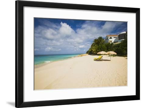 View of Turtle Cove Beach, Lesser Antilles, Anguilla-Stefano Amantini-Framed Art Print