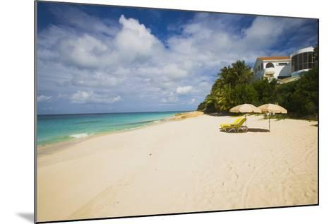 View of Turtle Cove Beach, Lesser Antilles, Anguilla-Stefano Amantini-Mounted Photographic Print