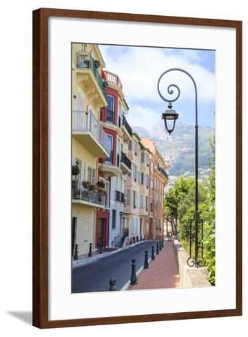 Monaco-Ville, Monaco, Cote D'azur-Fraser Hall-Framed Art Print