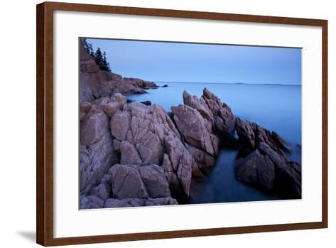 Atlantic Coastline, Acadia National Park, Maine-Paul Souders-Framed Art Print