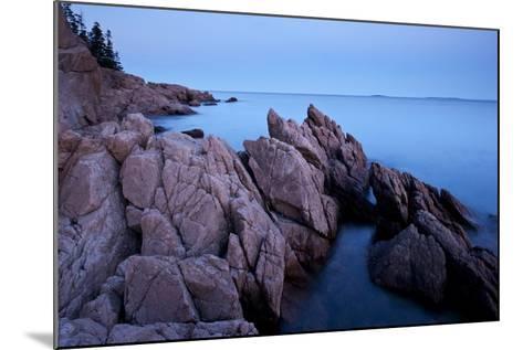 Atlantic Coastline, Acadia National Park, Maine-Paul Souders-Mounted Photographic Print