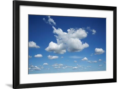 Cumulonimbus Clouds-Frank Krahmer-Framed Art Print