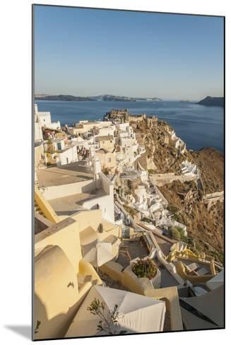 Oia, View of the Village-Guido Cozzi-Mounted Photographic Print