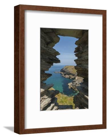 Tintagel Castle-Guido Cozzi-Framed Art Print