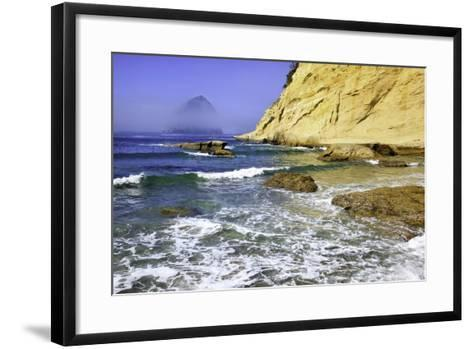 Haystack Rock, Cape Kiwanda, Oregon Coast, Pacific Ocean, Pacific Northwest-Craig Tuttle-Framed Art Print