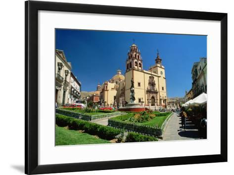 Baroque Basilica of Nuestra Senora De Guanajuato-Danny Lehman-Framed Art Print