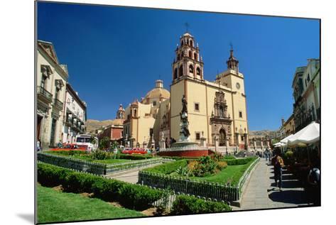 Baroque Basilica of Nuestra Senora De Guanajuato-Danny Lehman-Mounted Photographic Print