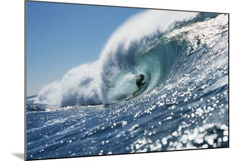 Surfer Riding a Wave-Rick Doyle-Mounted Photographic Print