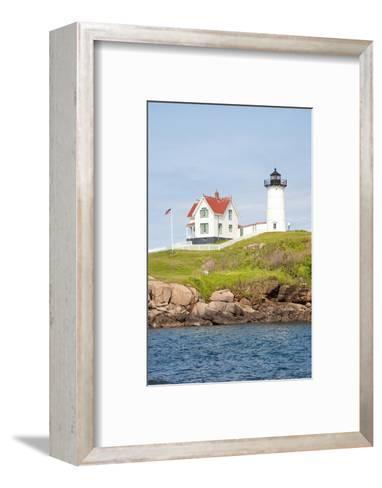 Nubble Lighthouse, Cape Neddick, York, Maine-Joseph Sohm-Framed Art Print