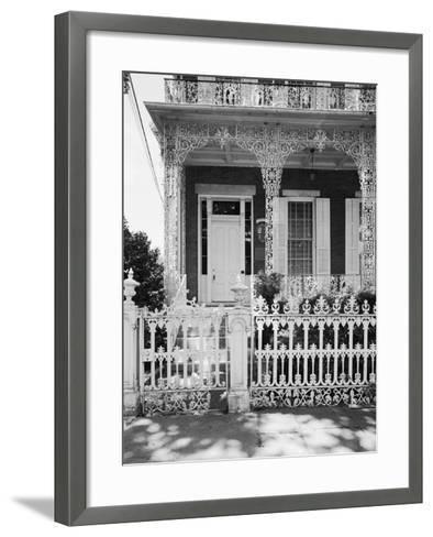 Entrance to the Richards-D.A.R. House-GE Kidder Smith-Framed Art Print