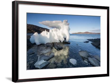 Melting Iceberg, Repulse Bay, Nunavut Territory, Canada-Paul Souders-Framed Art Print